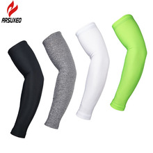 ARSUXEO Cycling Sleeves Armwarmer MTB Bike Bicycle Sleeves Arm warmer UV Protection Sleeves Ridding Golf Arm Sleeves XTN01
