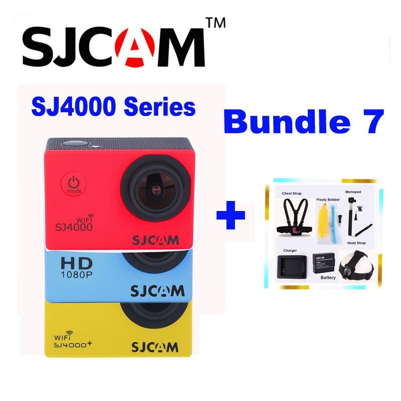 Original SJCAM SJ 4000 Series SJ4000 &amp; SJ4000 WIFI &amp; SJ4000 Plus Sports Action Camera 1080P HD DV Cam With Various Accessories<br><br>Aliexpress
