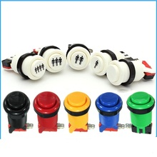 2016 New Arcade Push Button Durable Multicade MAME Jamma Game Long Switch Mult-color 1 pcs