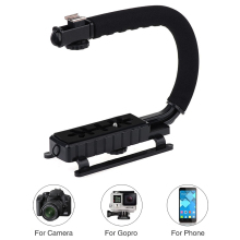 Mcoplus Flash Bracket holder Video Handle Handheld Stabilizer Grip for DSLR SLR Camera Phone Gopro AEE Mini DV Camcorder(China)