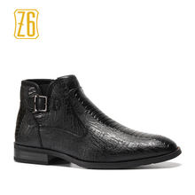 39-48 brand men boots Z6 Top quality 엄청 잘 편안한 Retro 가죽 봄 boots # R5282(China)