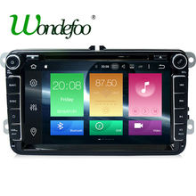 "8"" Octa core Android 6.0 Car 2 din dvd player For Seat Altea Toledo Leon Alhambra Exeo VW Skoda with touch screen GPS navigation(China)"