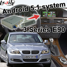 Android 6.0 GPS navigation box for BMW E90 3 series CIC system video interface box youtube waze mirror link iGO yandex(China)