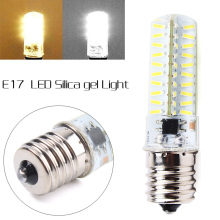 E17 Silica Gel Dimmable 80 LEDs 4014 SMD Cool/Warm White 8W Light Bulb Lamp 220V/110V - GoGood store