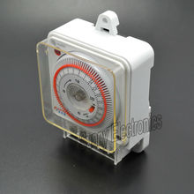 24 Hours Timing switch Multifunctional mechanical timer Circulation type industrial timing device for Ozone generator parts(China)