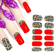 wholesale New Original Nail art care full cover sticker with self-adhesion decal Nail wrap beauty patch 1000pc/lot free shipping