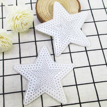75*75mm star back with glue embroidery patch diy clothing patch applique blossom DIY Accessory Sewing Supplies,20Y51766