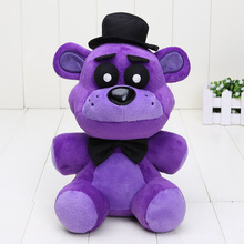 40pcs/lot 25cm FNAF Plush Toys Five Nights At Freddy's plush Purple Bear Five Nights At Freddy Fazbear stuffed toy kids toys(China)