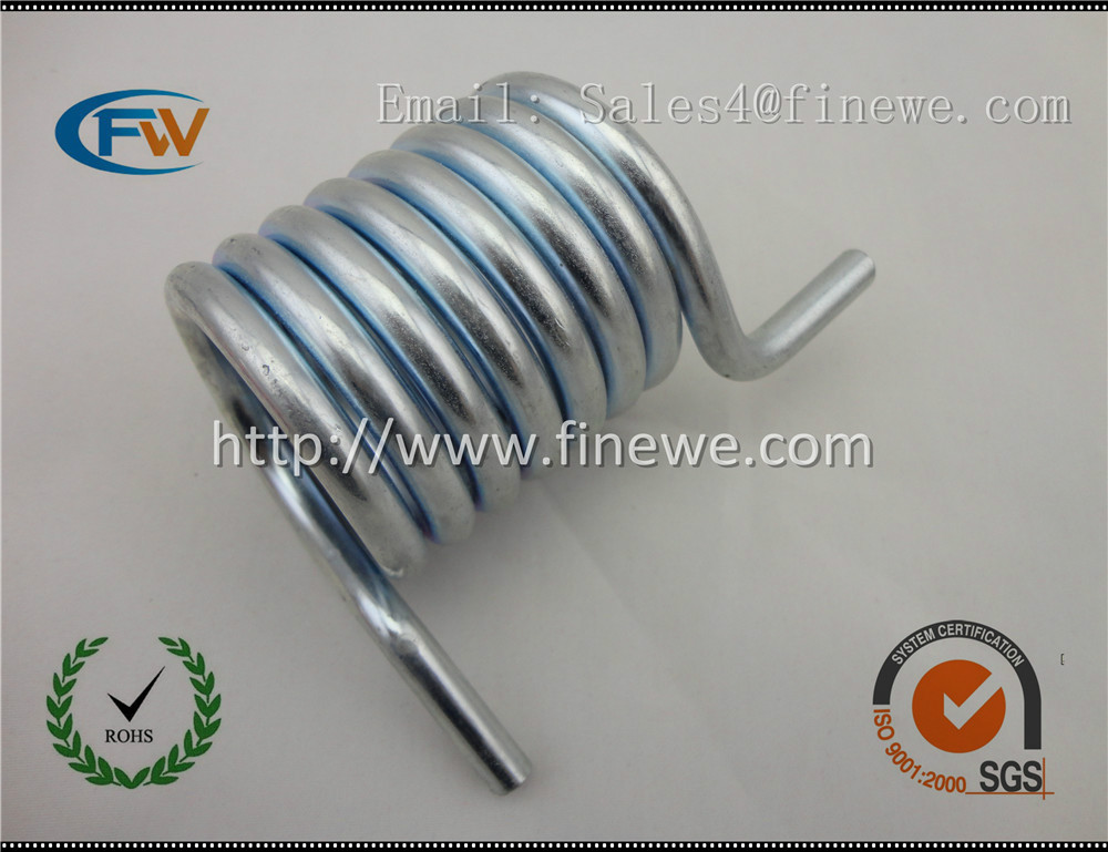 Manufacture Custom Top Quality spring Steel Spiral Torsion Spring,Anti-Corrosion Big Adjustable Coils Torsion Spring<br>