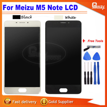 For 5.5'' Meizu M5 Note Touch screen+lcd display screen assembly for meizu M5 Note+tools