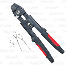 Haicable HL-700 Easy Operated Carbon Steel Wire Stripping Cutting & Crimping Machine Crimping Tool Manufacturer Max dia.2.2mm(China)
