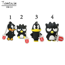 PenDrive 64GB 8GB 16GB 32GB Black Duck USB Flash Drive Cartoon Bird USB Disk High Quality Corbie Crow Pen Thumb Drive Stick