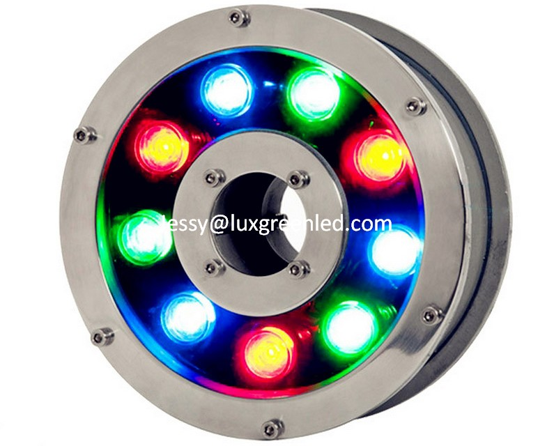 IP68 stainless steel 304, LED 9 pcsx3w RGB LED underwater light 27W with 3 years warranty<br><br>Aliexpress