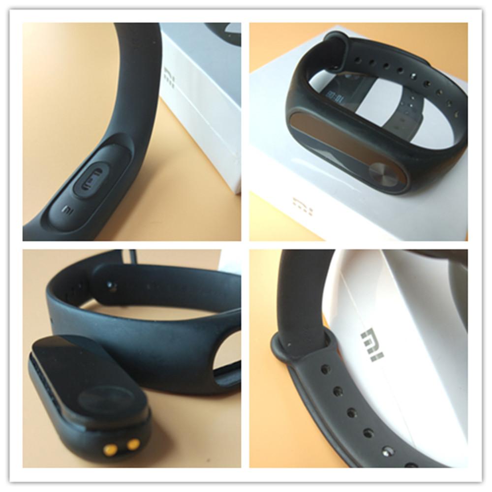 In stock 100% Original Xiaomi Mi smart wristband Xiomi Fitness Bracelet miband 2 mi band 2 for Xiaomi Mi6 sport tracker 21