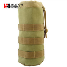 Buy Military Airsoft 1000D Nylon Molle Water Bottle Pouch Camo Hunting Tactical Vest Belt Water Bottle Pouches Pack Sport Gear for $8.34 in AliExpress store