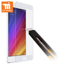 Films Tempered Glass For Xiaomi MI 6 Full Cover Screen Protector Black White Color Real Cell Phones Guard For Xiaomi MI6 Guard