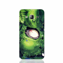 24053 Japan Totoro Art Green Anime cell phone case cover for Samsung Galaxy J1 MINI J2 J3 J7 ON5 ON7 J120F 2016