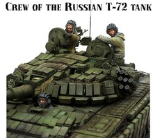 1/35 Scale Modern Russian army soldiers Chechen war tank soldier Resin Model Free Shipping