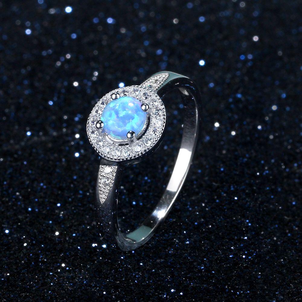 خاتم فضة بحجر جميل 1