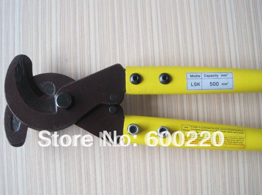 Hand Cable Cutter LSK-500 with the cutting range max 500mm2<br><br>Aliexpress