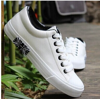 2017 Men zapatos mujer White Casual canvas shoes fashion Lover flat shoes scarpe donna creepers shoes students<br><br>Aliexpress