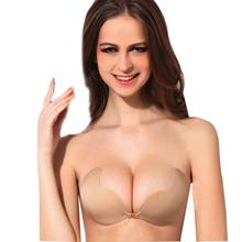Buy Durable hotselling silicone bra Women Sexy Strapless Instant Breast Lift Invisible Silicone Push Mango Bra