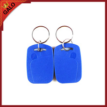100pcs/lot 13.56MHz RFID IC Key Tags Keyfobs Token NFC TAG Keychain For Arduino(Blue, red, yellow)(China)