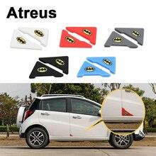 Atreus 2pcs Car Door Corner Crash Protection Cover Stickers BMW e46 e39 e36 Audi a4 b6 a3 a6 c5 Renault duster Lada granta