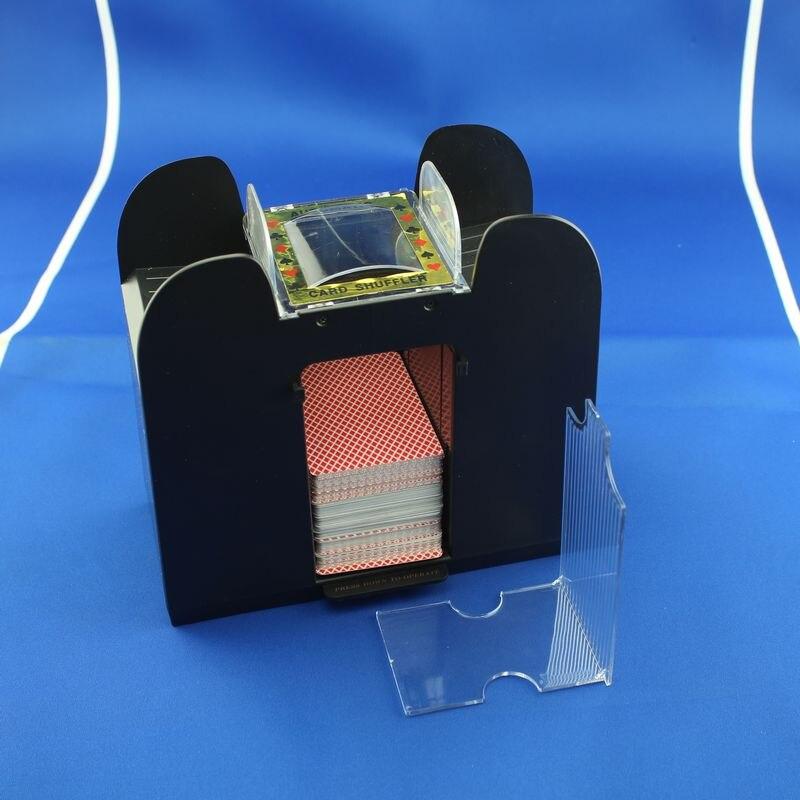 6-Deck Advanced Casino Robot Playing Cards Shuffler Poker Card Shuffler Automatic Shuffling Machine<br>