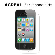9H Ultra Thin 0.26 mm 2.5D Premium Tempered Glass Screen Protector For iPhone 4s HD Toughened Protective Film for iphone 4 case()