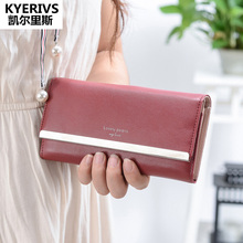 Buy Women Wallets Pu Leather Wallet Female Purse Long Clutch Bag Coin Purse Phone Fashion Womens Wallets Purses for $10.77 in AliExpress store