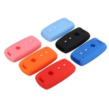 Silicone Remote Car Key Fob Case Cover For Suzuki Grand Vitara SX4 Swift XL-7(China)