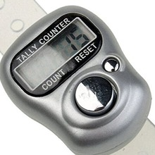 1pc Electronic Row Counter Finger Ring Golf Digit Stitch Marker LCD Tally Counter H7