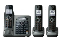 3 Handsets KX-TG7641 series DECT 6.0 link-to-cell Digital wireless phone Cordless Phone