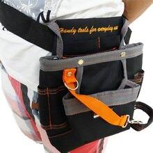 Alta calidad 8 bolsillos Oxford bolsa de herramientas electricista  Herramientas bolsa de herramientas del electricista cintura b. 4c12caaee898