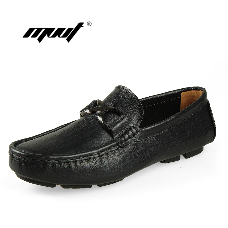 Genuine leather men shoes summer spring men flats shoes soft mesh Breathable loafers Moccasins Fashion Comfy Driving Shoes<br>