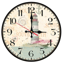 2017 hot sale wall clock wooden clocks quartz watch single face still life stickers modern sofa background home decoration(China)