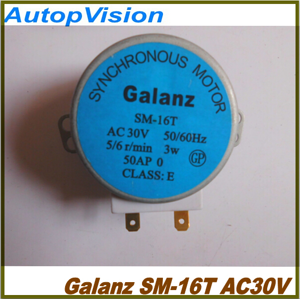 SM-16T Microwave Turntable Turn Table Motors Machinery Synchronous Motor SM16T AC30V for Galanz Microwave<br><br>Aliexpress