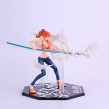 One piece toy figures Nami Action Heroes OnePiece Nami PVC Action Figure Collectible Toy 12cm Fighting form