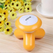 Mini Cute Handled Use USB / Battery Electric Mini Vibrating Full Body Massager Best Gift 6 Colors To Choose(China)
