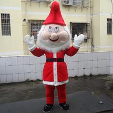 Santa Clause Mascot Costume Custom Mascot Character Costume Carnival Costumes Christmas Dress