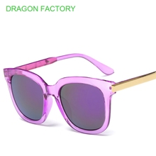 Original branded women's sunglasses men's sun glasses luxury plate aviator eyeglasses summer glasses DZ0129(China)
