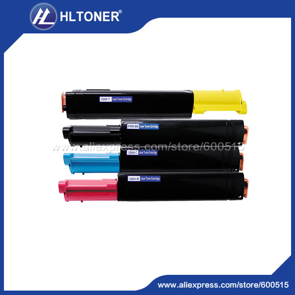 4pcs/set Compatible DELL 3000/3100 Toner cartridge for  DL 3000/3100CN<br><br>Aliexpress