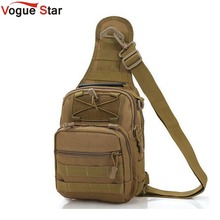 Vogue Star Men Messenger Bags Chest Pack Multifunctional Shoulder Bag Crossbody Equipment LA24(China)