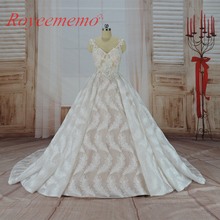 2017 hot sale special lace Wedding Dress transparent top Bridal gown custom made wedding gown factory directly wholesale price