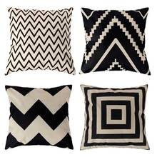 45X45CM Fashion New Vintage Retro Pillow Cover Home Seat Beds Room Decorative Cotton Linen Blended Crown Throw Pillow Case