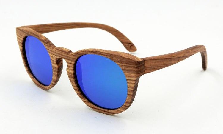 Hot Sale Outdoor Men and Women Natural Zebra Wooden TAC Polarized Sunglasses<br><br>Aliexpress