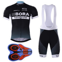 2017 bora team Summer dh Pro sporting Racing COMP UCI world tour Porto 9d gel cycling jerseys fh Bike Ciclismo clothing manufact(China)