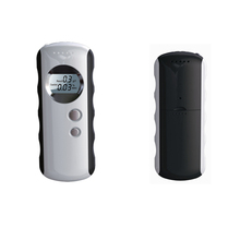 Professional Police Digital display Breath alcohol tester with mini LED torch+Analyzer breathalyzer with LCD screen