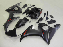 Motorcycle Fairing Kit for YAMAHA YZFR6 03 04 05 YZF R6 2003 2004 2005 YZF600 ABS Whole matte black Fairings set+7gifts KS08